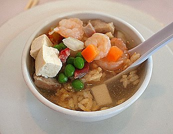 Chinese Sizzling Rice Soup Ingredients: