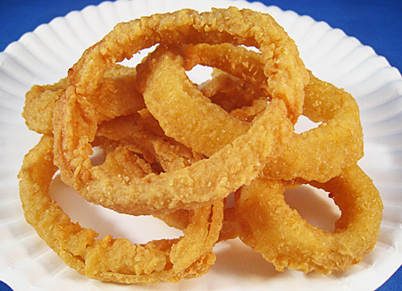 Fried onion ring recipes