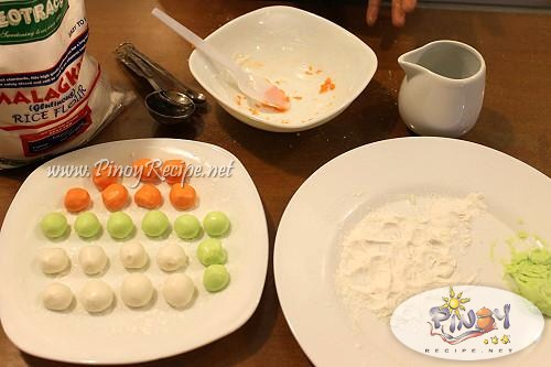 bilo bilo or sticky rice balls recipe