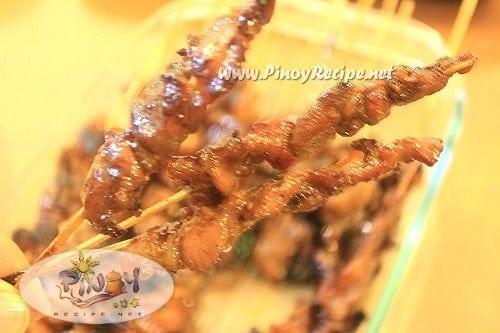 Filipino Pork Barbeque Skewers Recipe - Filipino Recipes Portal