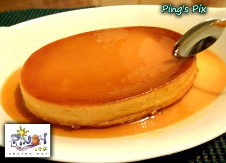 You can tell when the Baked Leche Flan is cooked by inserting a knife ...