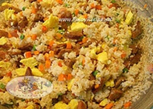 Morisqueta Tostada recipe