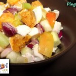 Red Salted Egg Salad Recipe