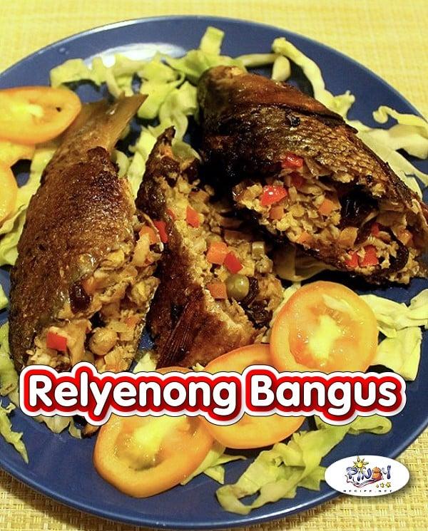 Rellenong Bangus Recipe - Stuffed Milkfish