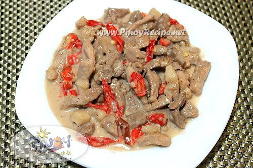 bicol express pinoy recipe