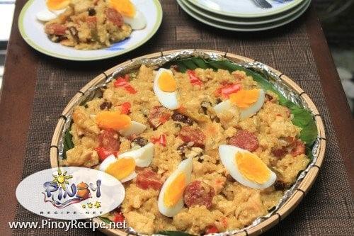 bringhe Filipino recipe