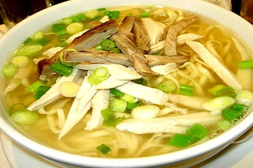 chicken mami noodles soup recipe