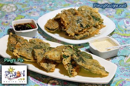 crispy kangkong recipe