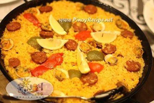 paella valenciana recipe