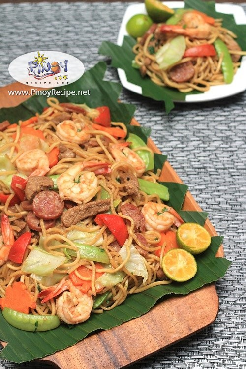pancit canton pinoy recipe