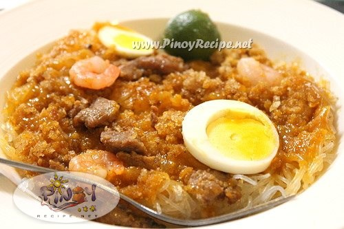 pancit palabok pinoy recipe