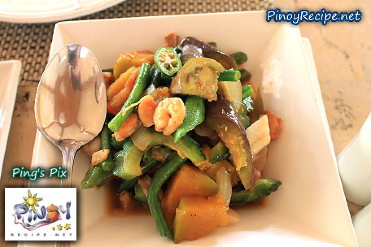 Pakbet Or Pinakbet Recipe