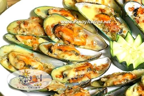 Filipino baked tahong recipe baked mussels filipino recipes portal baked tahong recipe forumfinder Images