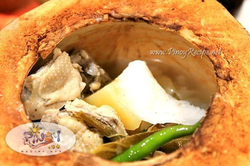 chicken binakol recipe