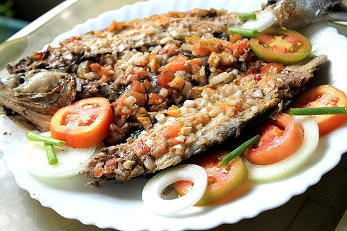 inihaw na bangus or grilled milkfish recipe