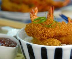 Pinoy Crispy prawn tempura