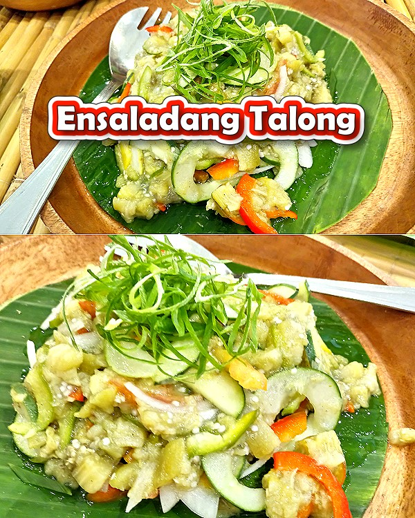 Ensaladang Talong Recipe for Pinterest