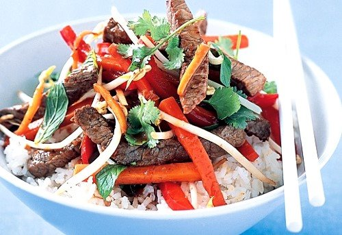 Thai Spicy Beef Stir-fry Recipe
