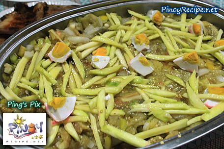 ensaladang talong recipe