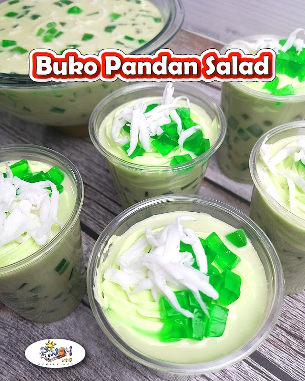 Buko Pandan Salad Recipe