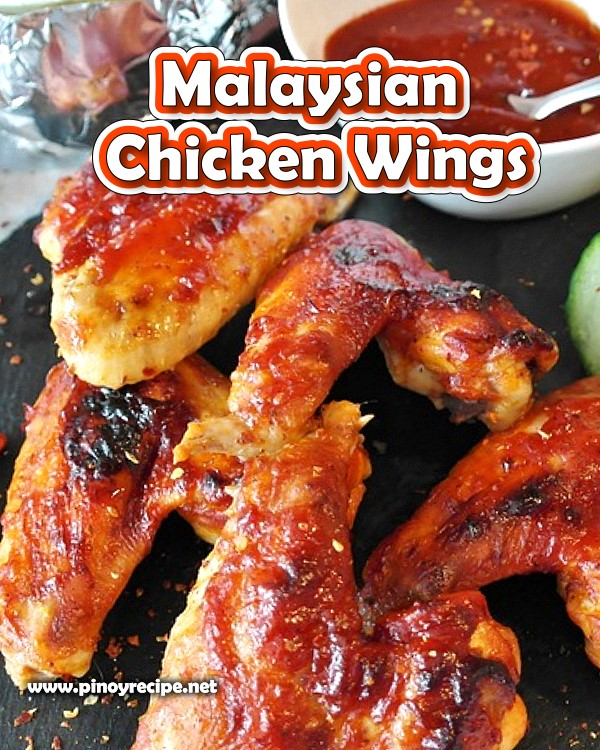 Malaysisian Chicken Wings Recipes