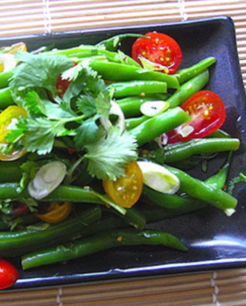 Thai Tomato and Green Bean Salad Recipe