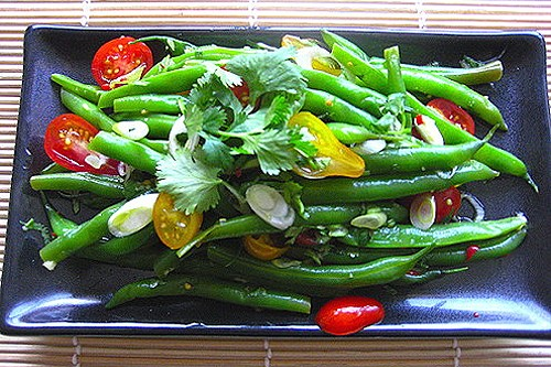 Thai Tomato and Green Bean Salad Recipe