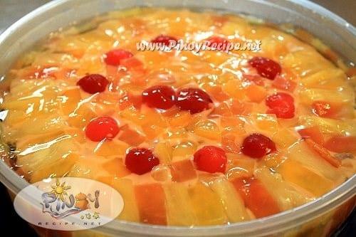 crema de fruta recipe