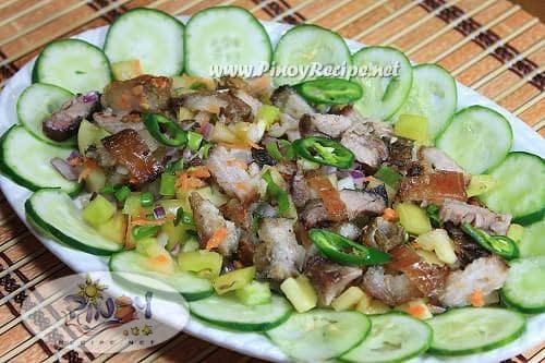 Sinugbang Baboy na Kinilaw Recipe