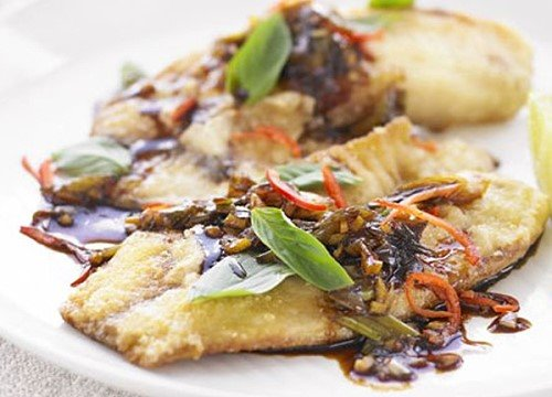 Fried Tilapia in Thai Sauce Recipe