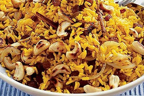 Spicy Indian Rice Recipe