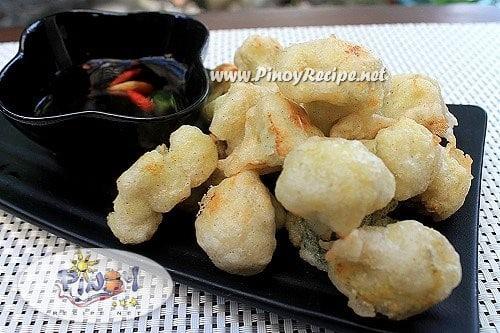 cauliflower tempura recipe