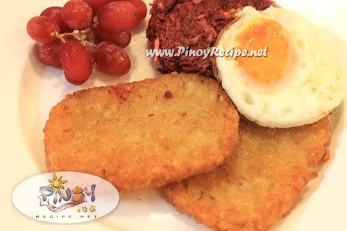 hash browns recipe pinoy style