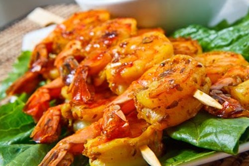 satay prawn recipe