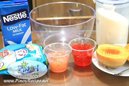 buko melon sago cooler recipe