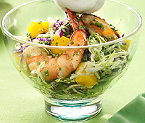 Chive Up Seafood Salad Recipe