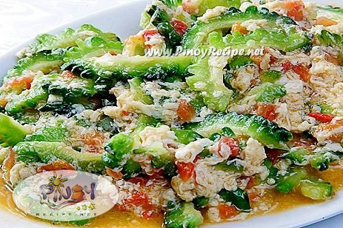 ginisang ampalaya with egg recipe