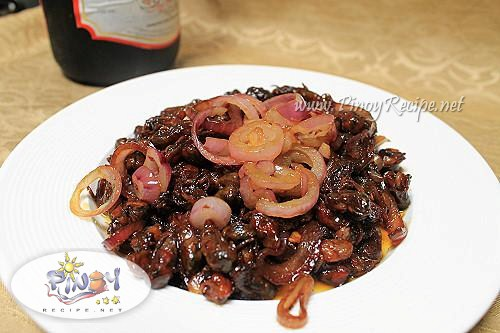 adobong tahong filipino recipe