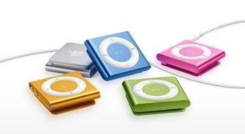 iPod Shuffle, contests