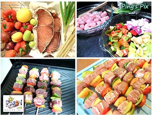 malasugi swordfish kebab recipe