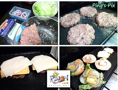 pinoy style beef burger recipe