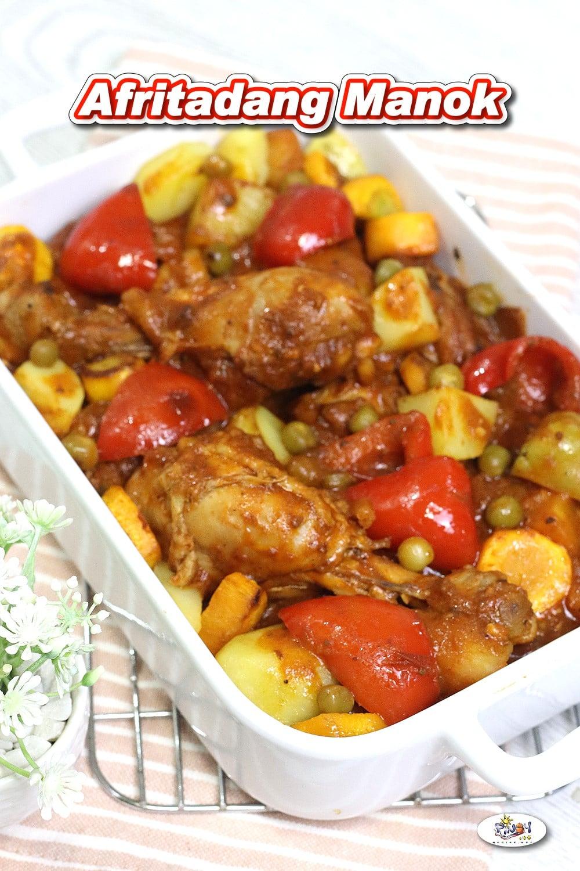 Afritadang Manok Recipe