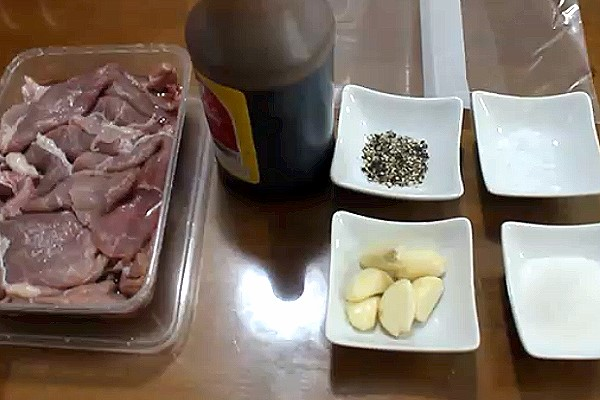 Beef Tapa Ingredients