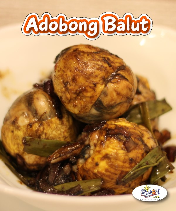 Adobong Balut Recipe