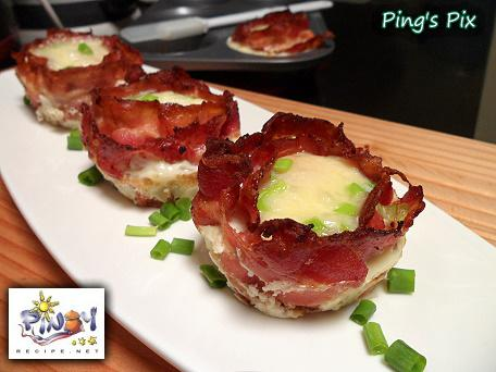 Bacon Cheese Egg Cups
