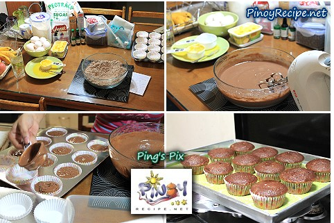 Easy Chocolate Cupcakes Ingredients