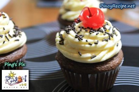Easy chocolate cupcake recipe pinoy