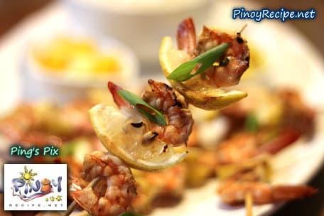 Grilled Shrimp and Lemon Kebabs