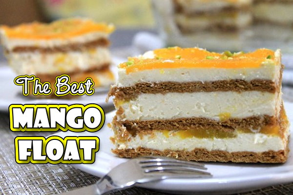 The best Mango Graham Float
