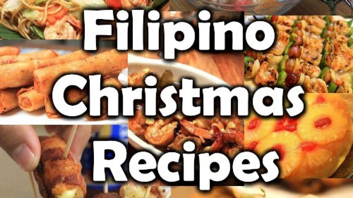 Filipino Christmas Recipes Or Noche Buena Recipes